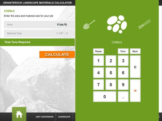 Graniterock iPad Screenshot 2