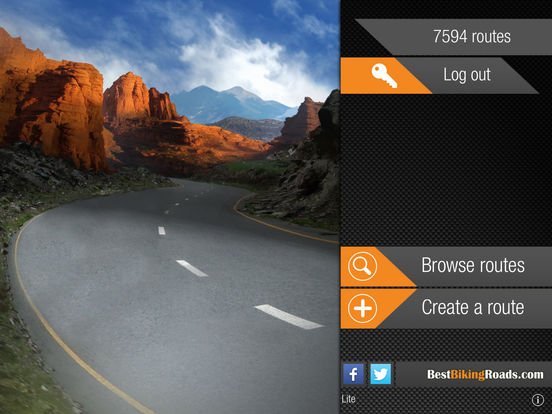 Best Biking Roads Lite screenshot