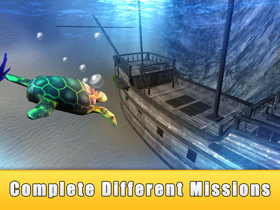 Sea Turtle Simulator 3D Full - Ocean Adventure для iPad