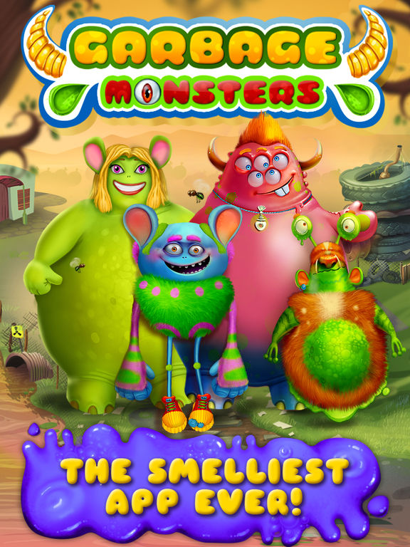Garbage Monsters - Messy Makeover на iPad