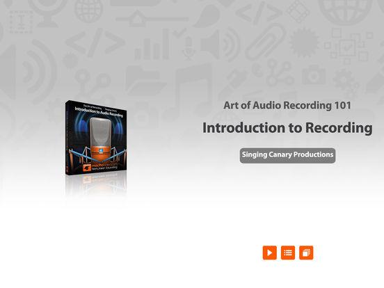 Intro to Recording Audio iPad Screenshot 1
