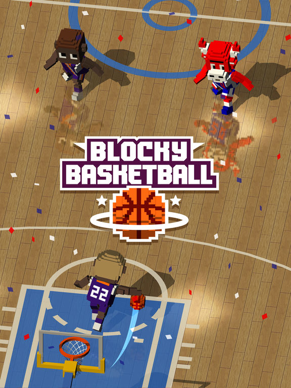 Full Fat releases Blocky Basketball for iOS and Android Image