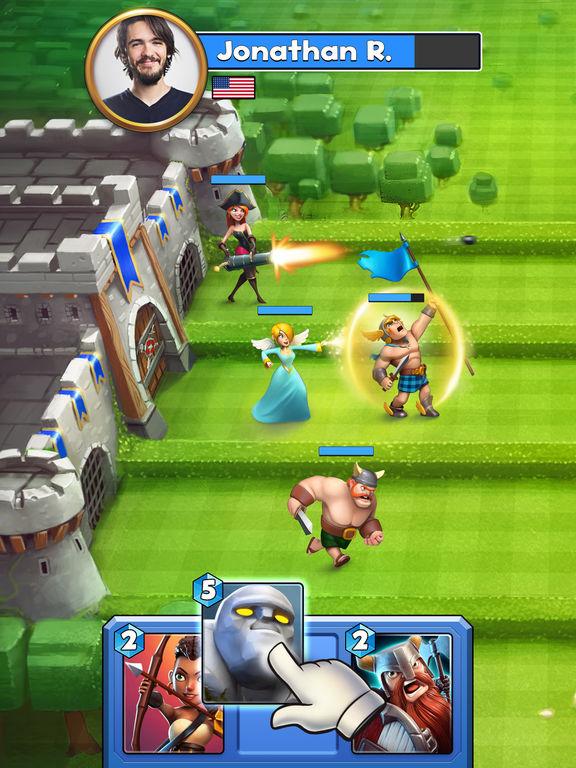 Castle Crush: Epic Strategy Gamescreeshot 1