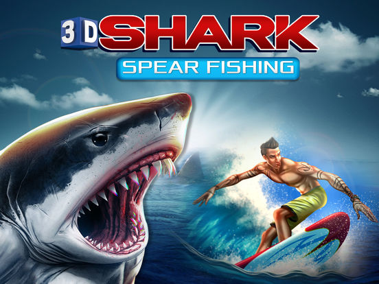 App shopper 3d shark spear fishing hungry sniper world for Shark fishing games