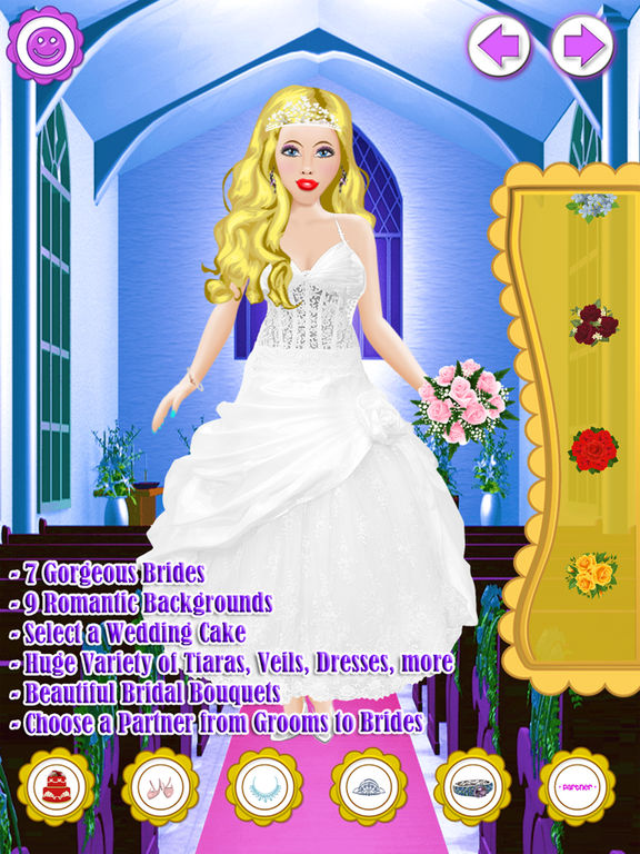 App Shopper Bridal Salon Dress Up Fashion Girl Virtual