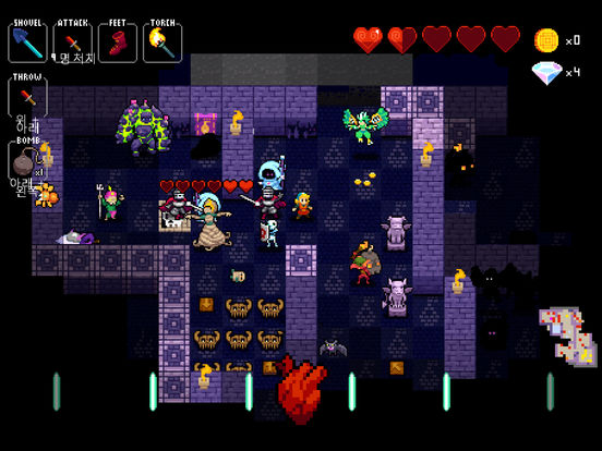 Crypt of the NecroDancer Pocket Edition 앱스토어 스크린샷