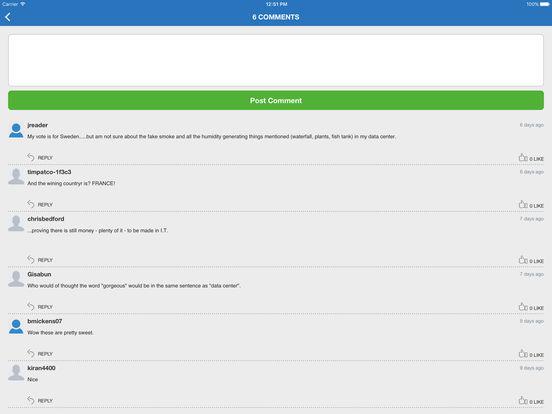 TechRepublic iPad Screenshot 3