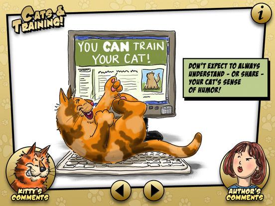 Paws off my keyboard, Kitty! iPad Screenshot 1