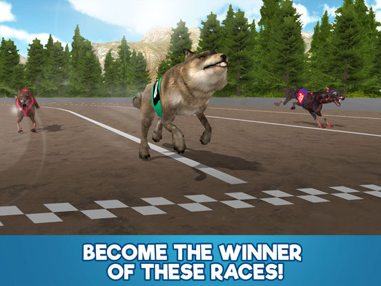 Dog Racing Tournament Sim 3D Full screenshot 8