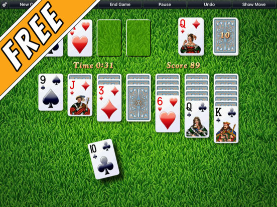 Screenshot #1 for Solitaire City (Free)