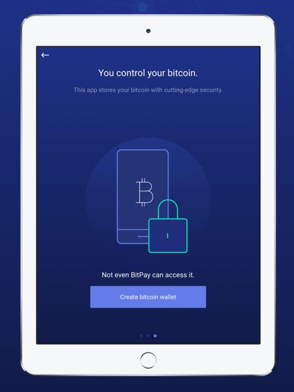 BitPay – Secure Bitcoin Wallet screenshot