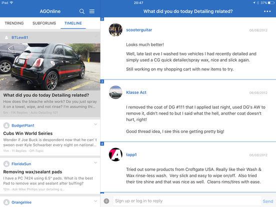 AutogeekOnline iPad Screenshot 4