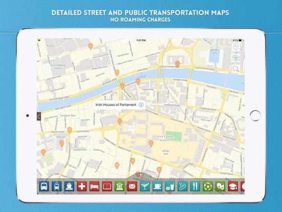 Dublin Travel Offline iPad Screenshot 4