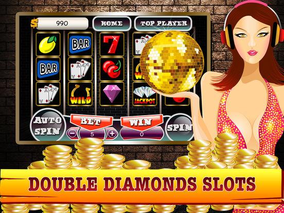 Double diamond slots free play