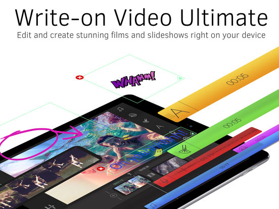 Write-on Video Ultimate-Video Editor & Movie Maker Screenshots