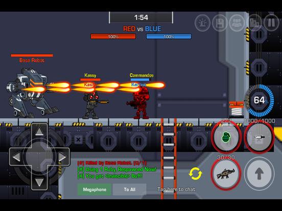 LOSTGUNS - 2D Online Shooting screenshot 6