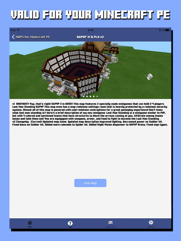 App Shopper Maps For Minecraft PE Pocket Edition Utilities - Minecraft maps fur ipad