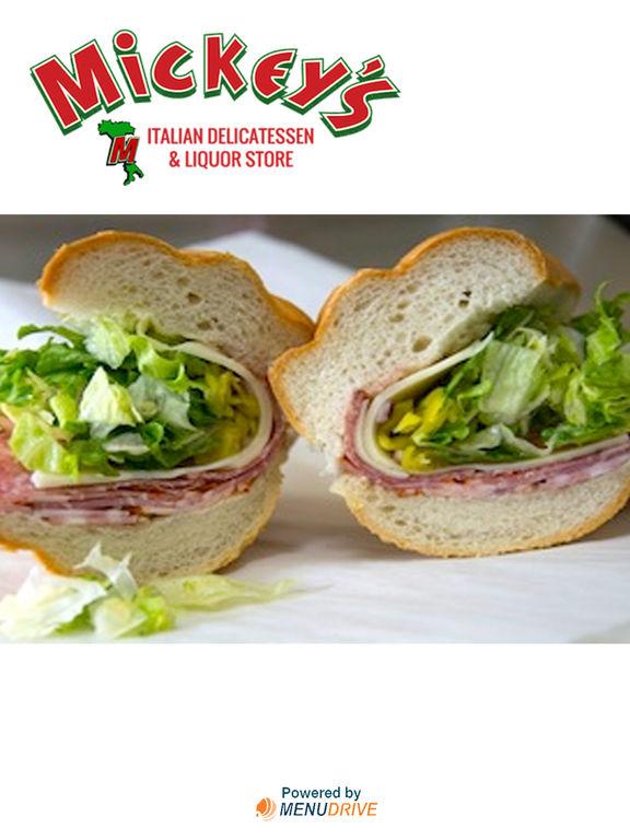 App shopper mickey 39 s italian deli food drink for Amante italian cuisine deerfield