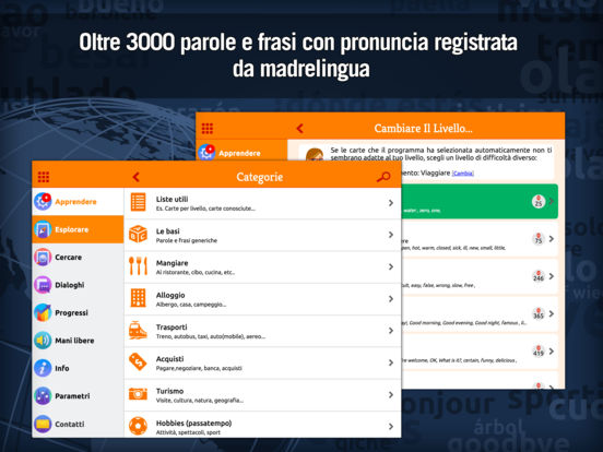MosaLingua Inglese : Imparare e Memorizzare l'Inglese rapidamente (Italiano ► Inglese) iPad Screenshot 3