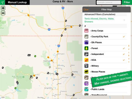Camp & RV iPad Screenshot 2