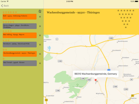 izip Germany iPad Screenshot 2