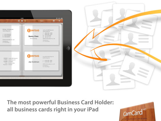 Camcard hd business card scanner reader apprecs camcard hd business card scanner reader screenshot reheart Choice Image