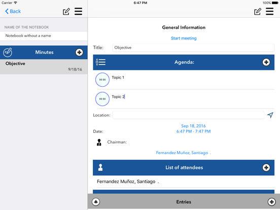 Simple Minutes screenshot