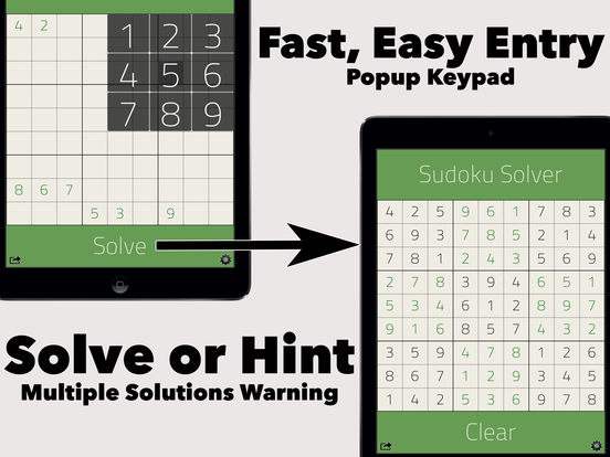 Free Sudoku Solver screenshot