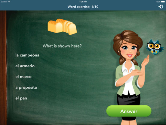 Spanish Class iPad Screenshot 3