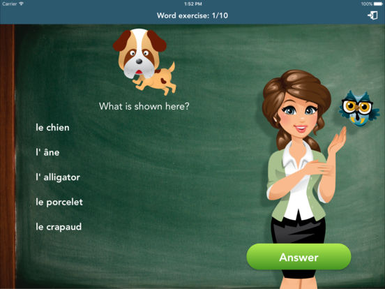 French Class Lite iPad Screenshot 2