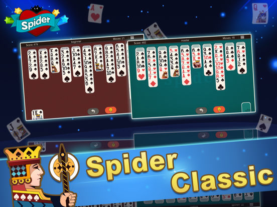 Ace Spider Unlimited Free HD iPad Screenshot 4