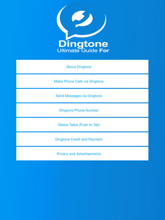App Shopper: Ultimate Guide For Dingtone - Free Phone ...