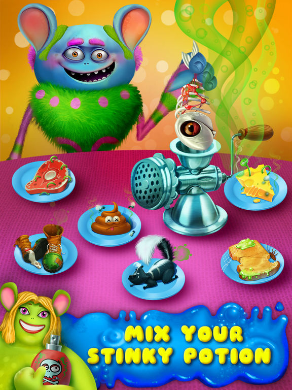 Игра Garbage Monsters - Messy Makeover