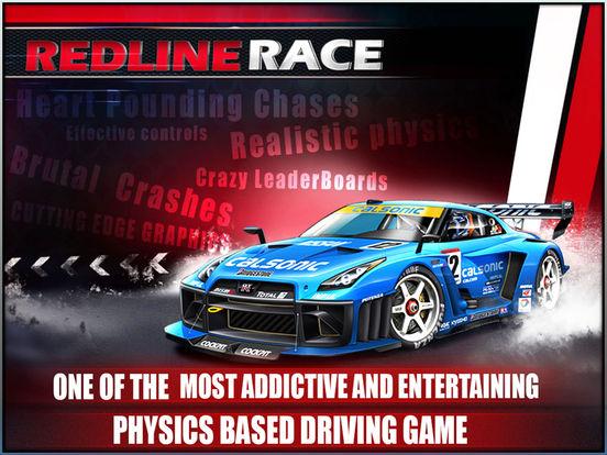 Redline Race - Top 3D Car Stunt Racing Games на iPad