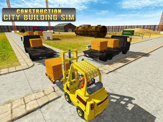 App shopper construction city building simulator games for Online house builder simulator
