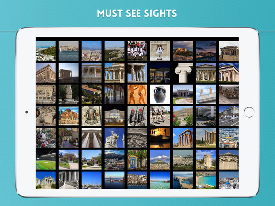 Athens Travel Guide iPad Screenshot 4