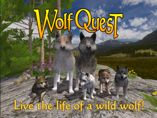 wolf quest on ipad