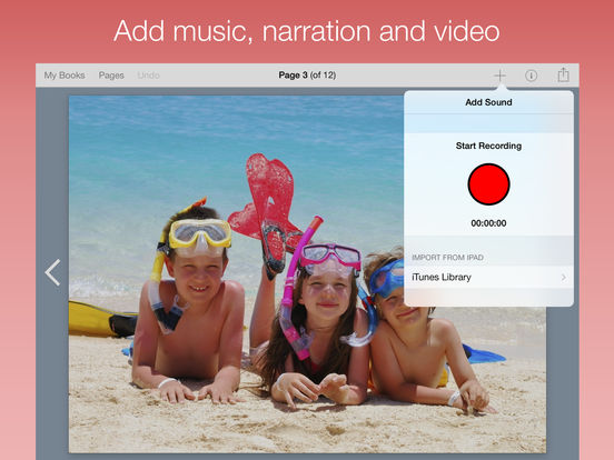 Book Creator for iPad - create ebooks and pdfs, publish to iBooks screenshot