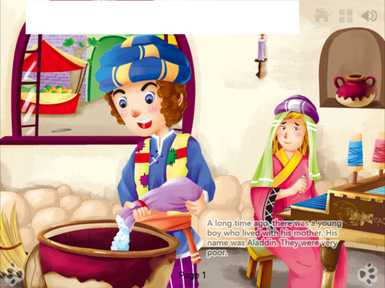 Interactive Books-Classic Fairy Tales Collection Lite-by iBigToy iPad Screenshot 5