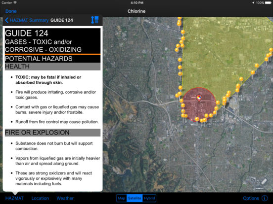 HAZMAT Evac iPad Screenshot 3