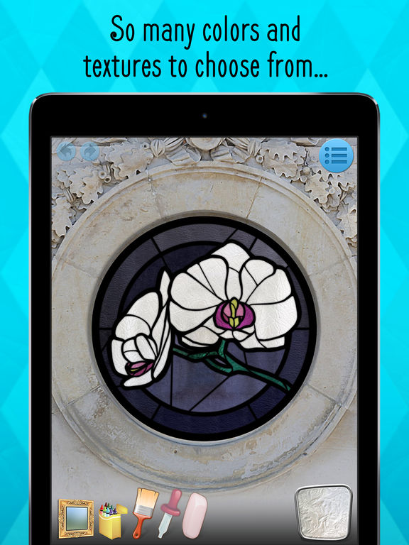 Stained Glass Coloring Book Screenshots