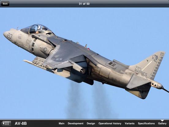 U.S. Military Aircraft Appreciate Guide iPad Screenshot 4