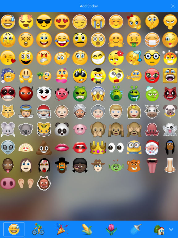 Emoji Camera - taking colorful photos with emojis Screenshots