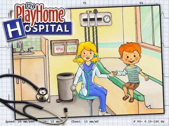 My PlayHome Hospital Screenshots