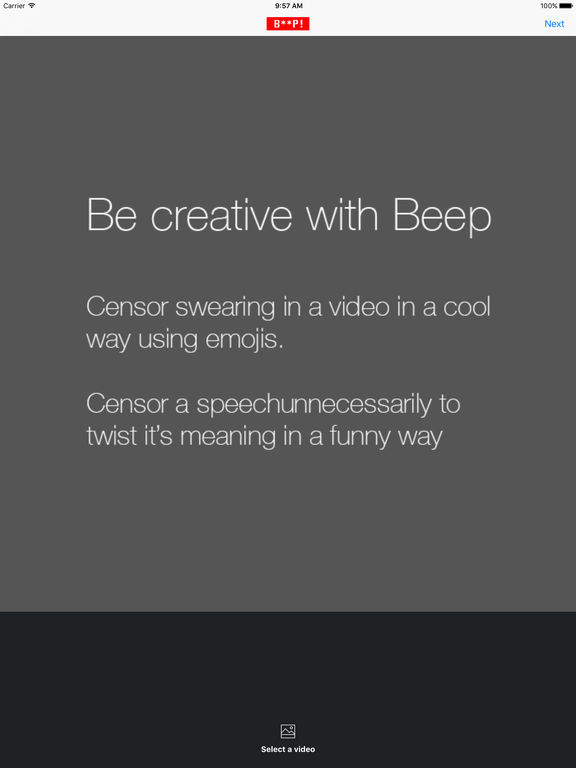 Beep - Censor videos in a cool way Screenshots