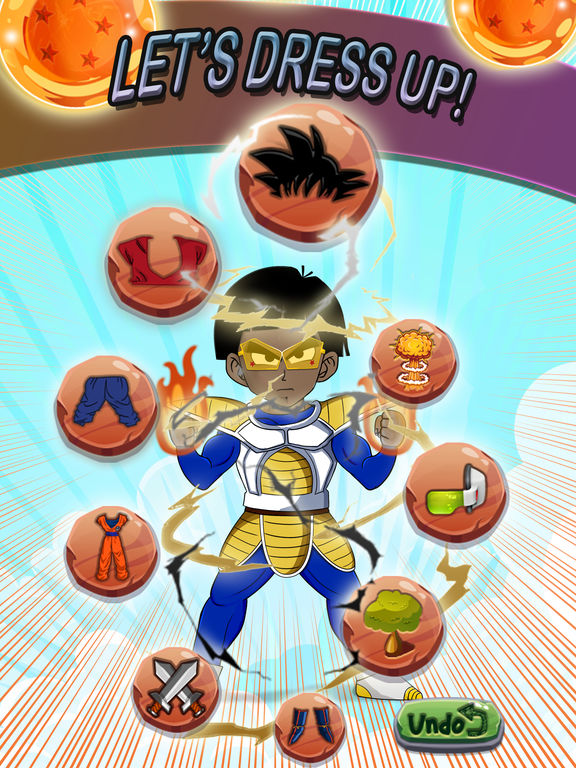 how to create your own dragon ball z character