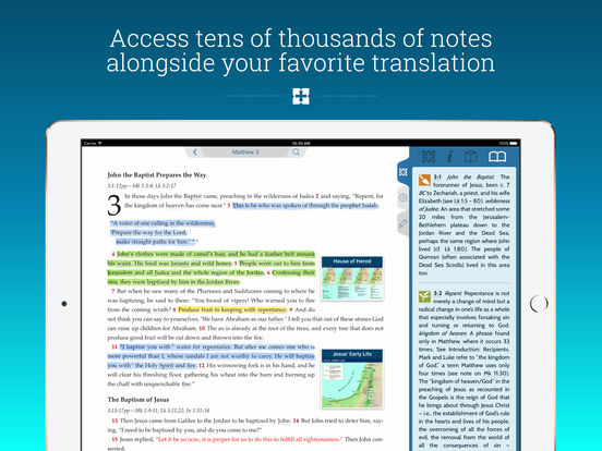bible software  for ipad