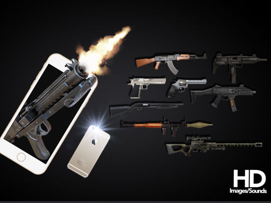Screenshots of Gun Shot Sounds - HD gunshot sound for iPad
