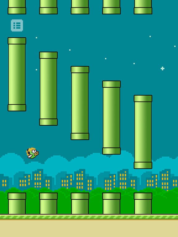 Flappy rush impossible replica happy back game by junxiong ruan