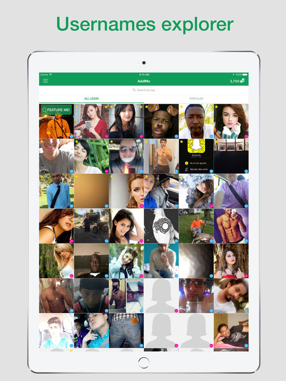 Screenshots of Make Friends - Find Girls, Stranger People to Talk for iPad